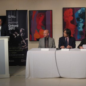 Orchestre Symphonique de Montreal (Press conference / Conférence de presse)