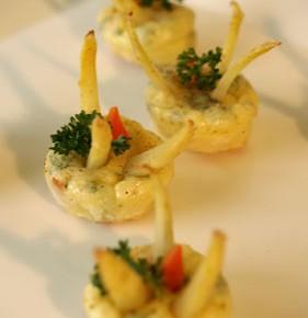 Mini Quiche  (Crustless quiche)